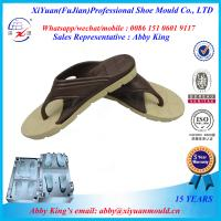 Buy cheap 2015 hot selling bi-color EVA shoe sole mould,EVA V flip flop mold,injection EVA slipper mould from wholesalers