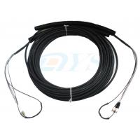 Pulling Eye Pre-terminated Optical Fiber Patch Cord , Multimode Fiber Patch Cable Manufactures