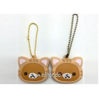 Wholesale PVC key holders custom cartoon animal key holders supply and manufacturer from china suppliers