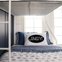 Buy cheap Heavy Duty Strong Military Industrial Steel Pipe Bunk Bed For Adult , Optional Colour from wholesalers