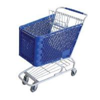 Buy cheap Plastic Shopping Trolley/Cart from wholesalers