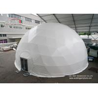 Buy cheap 500 People White Roof Cover Geodesic Dome Tent Steel Structure for Outdoor Event from wholesalers