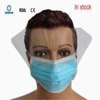 Buy cheap 3 Layers Filter  Disposable Face Mask Adjustable Ties Ce & Fda Approved from wholesalers
