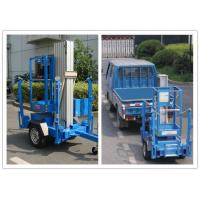 Buy cheap Trailer Mounted One Man Lift 8 Meter Hydraulic Aluminium Alloy With 136 kg Rated Load from wholesalers