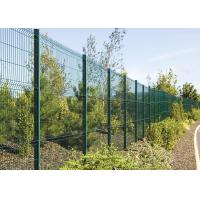 Buy cheap Custom Pvc Powder Coated 2D Welded Mesh Fencing Low Carbon Iron Wire from wholesalers