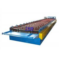 Buy cheap Steel Roof Panel Roll Forming Machine , Metal Roof Panel Machine Solid Shaft from wholesalers