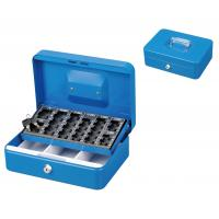 Buy cheap Customized Antitheft Metal Cash Box Euro Money Safe With Removable Coin Tray from wholesalers