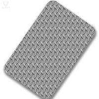 Buy cheap SGS 0.2mm 201 SS Stainless Steel Checkered Plate Fireproof from wholesalers