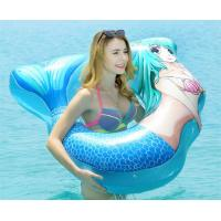 Buy cheap Heavy Duty Inflatable Mermaid Tail , Inflatable Pool Raft Beautiful Shape from wholesalers