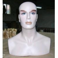 Buy cheap Quality Male Mannequin Head & Bust from wholesalers