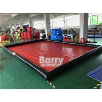 Wholesale Airtight Cleaning Inflatable Car Wash Mat / Inflatable Water Containment Mat from china suppliers