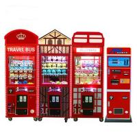 Buy cheap British Style New Toys Dolls Crane Claw Machine Excavator Simulation Game Machine Coin Operated Gift Game Machine from wholesalers