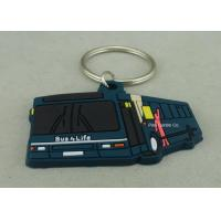 Wholesale Custom Soft PVC Keychain , Promotional 2D Custom Rubber Keychains from china suppliers