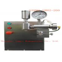 Buy cheap Super high pressure Lab Homogenizer for all kind test two-stage homogenizing from wholesalers