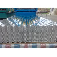 Buy cheap 1100 3003 Aluminium Roofing Sheet , Construction Corrugated Aluminum Sheet from wholesalers