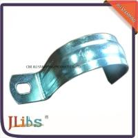 Buy cheap No Screw ISO9001 Metal Tube Brackets Without Rubber , High Temperature Resistance from wholesalers