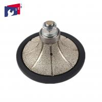 Buy cheap Demi Bullnose Diamond Router Bits , Roundover Router Bit Diamond Hand Profiler from wholesalers