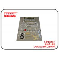 Wholesale 5-87814281-1 5878142811 Isuzu Cylinder Gasket Set For 4BG1 4BE1 XD from china suppliers