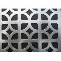 Buy cheap Galvanised Steel Decorative Metal Panels , Ornamental Decorative Metal Grate For Ceilings product