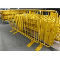 Buy cheap Multi Purpose Temporary Mesh Fence With Concrete Filled Plastic Feet / Clamps from wholesalers
