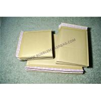 Buy cheap Secure sealed Kraft Bubble Mailers Maroon 115x210mm #B Vinyl Buffered for Transport from wholesalers