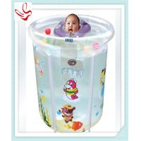 Buy cheap Personalized Summer Baby Inflatable Swimming Pools With Double Bottom from wholesalers