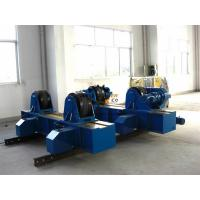 Adjustable Pipe Welding Rollers For Cylinder Rotation 80 Ton Loading Capacity Manufactures