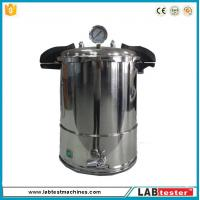 Test Autoclave Steam Sterilizer Accelerated Aging Chamber 18L Industrial Vertical 50-128 ℃ Manufactures