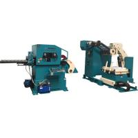 Buy cheap Pneumatic Decoiling And Straightening Machine For Aluminum Bronze Material Stamping , Pressing , Punching from wholesalers