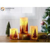 Buy cheap Glittering Christmas Led Candles On / Off Switch Tree Decorative Candles from wholesalers