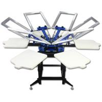 Buy cheap 6 color screen printing machine from wholesalers