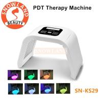 Buy cheap Anti-aging PDT Beauty Machine Led Light Therapy Face Mask SNOWLAND Brand from wholesalers