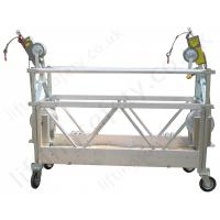 Buy cheap 500kg , 630kg Rope Suspended Platform 1.5kw , 1.8kw with Electric Motor for Chimney from wholesalers