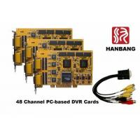 Buy cheap 48 Ch 1440fps REAL-TIME Hardware Compre. H.264 DVR Card from wholesalers