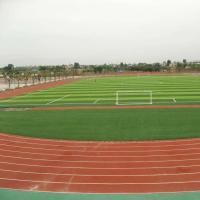 Buy cheap Outdoor Fake Grass Football Field  For 11 People Standard Game Stadium from wholesalers