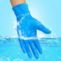 Buy cheap disposable protection nitrile gloves powder free gloves MOQ 100000 pcs from wholesalers