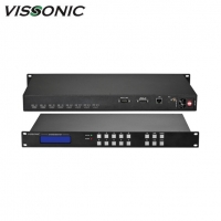 Buy cheap High Speed Switching Hdmi Matrix Switcher UHD4Kx2K HDMI 16x16 Seamless Switcher Scaler from wholesalers