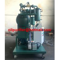 Buy cheap Single Stage Insulating Oil Filtering Machine Transformer Oil Degassing Vacuum Purifier movable oil purification supply from wholesalers