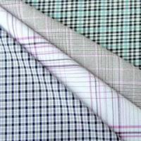 Buy cheap Cotton yarn dyed shirt fabric with dobby from wholesalers