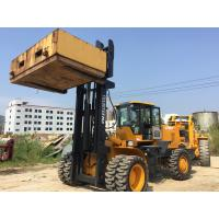 Buy cheap Large Capacity 15 Tons Articulated Forklift Rough Terrain Fork Truck 6 Cylinders from wholesalers