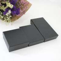 Wholesale Black Color Empty Jewelry Boxes Pasteboard Top Sheet Coated Paper from china suppliers