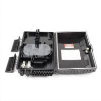 Buy cheap Wall Mount Type Outdoor Fiber Distribution Box , Indoor Fiber Termination Box from wholesalers