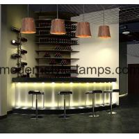 Buy cheap D25xH25cm Contemporary Wood Chandelier , Tree Bark Hanging Lamp 60W Bulb from wholesalers