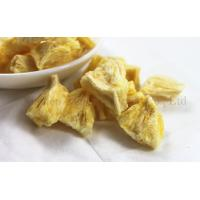Buy cheap Long Term backpacking freeze dried food Pineapple Slices Fruit Snacks from wholesalers