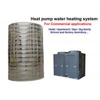 Wholesale Heat Pump Small Commercial Water Heater R407C / R410A Refrigerant Low Noise from china suppliers