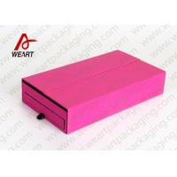 Wholesale Drawers Type Collapsible Paper Box , Retail Jewelry Cardboard Boxes With Logo from china suppliers