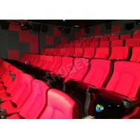 Wholesale Red 3D Movie Cinema / Movie Theatre Seats With Vibration System CE Approval from china suppliers