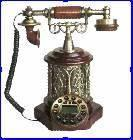 Buy cheap Antique Reproduction  Wooden  Craft  Telephone from wholesalers