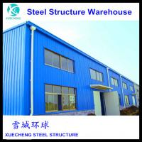 China made prefabricated light weight steel structure warehouse