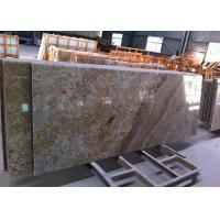 Buy cheap Brazilian Golden Vein Granite Island Top Flat Surfacce With Polished Edges from wholesalers